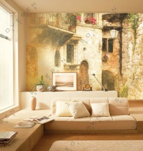 Фото фресок на стене