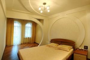 Фото потолков из гипсокартона в спальне