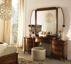 Фото трельяжа с зеркалом для спальни