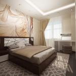 Фото дизайна спальни 15 кв.метров