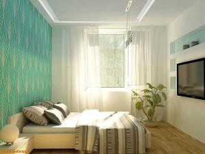 Фото интерьера спальни в хрущевке
