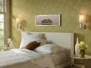 Фото оформления стены над кроватью