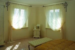 Фото тюль в спальне