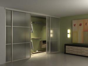 Фото встраиваемого шкафа в спальне