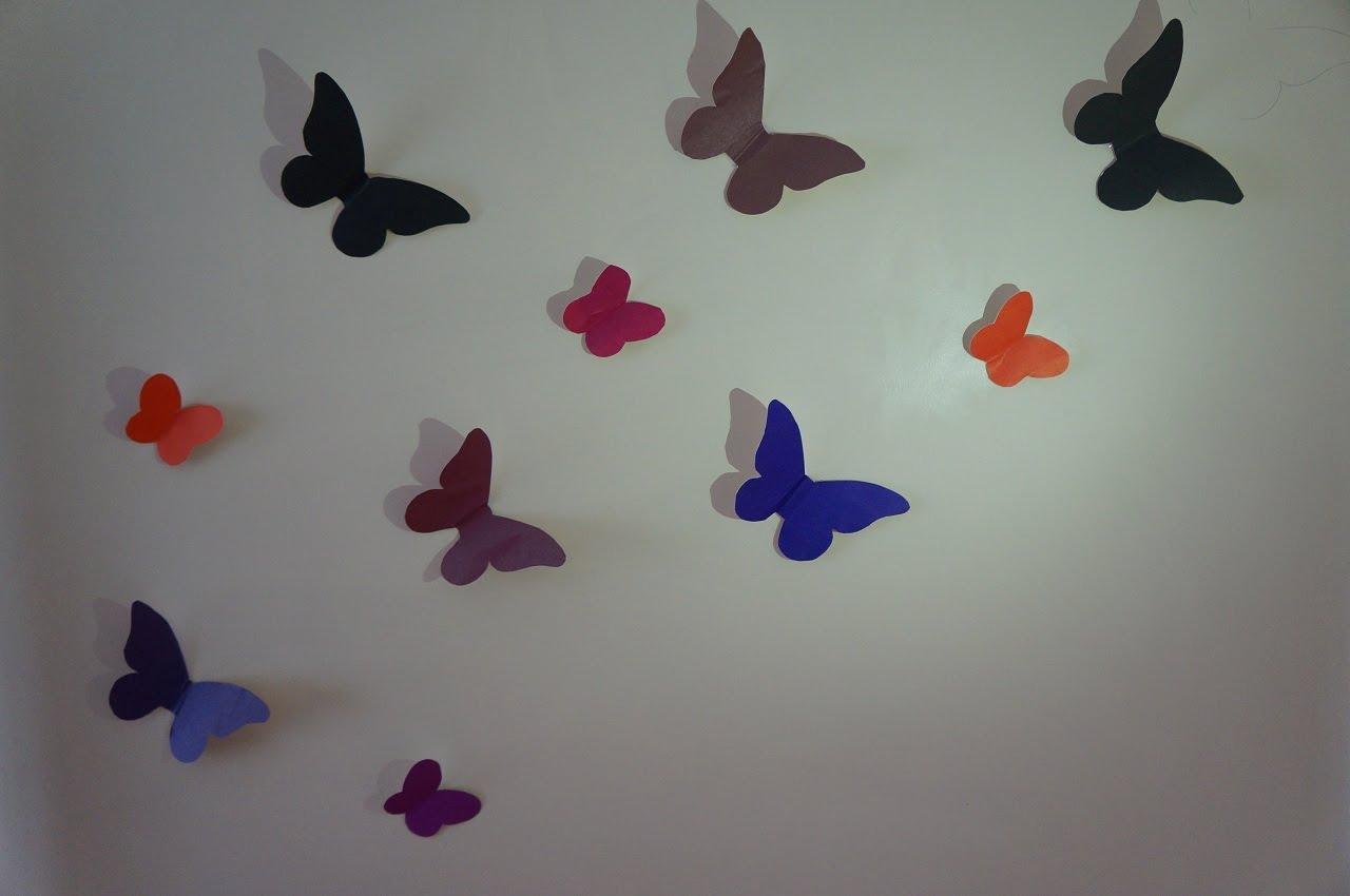 Декор бабочки на стене как сделать своими руками фото 323