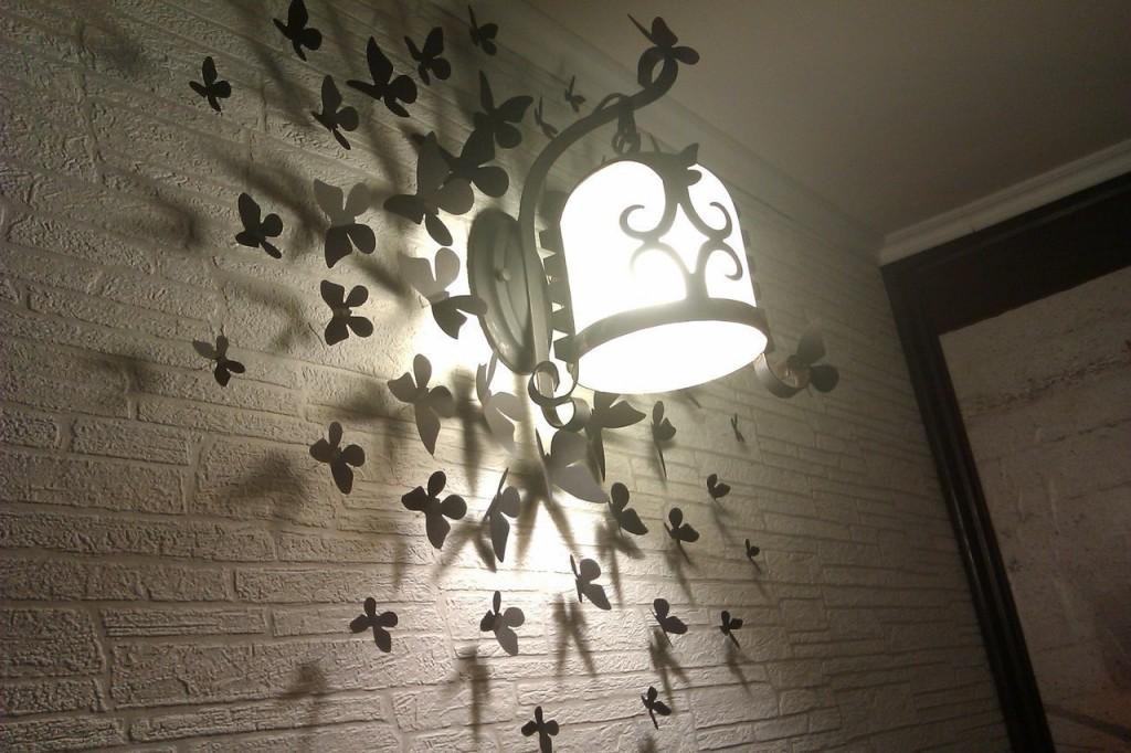 Бабочки своими руками декор
