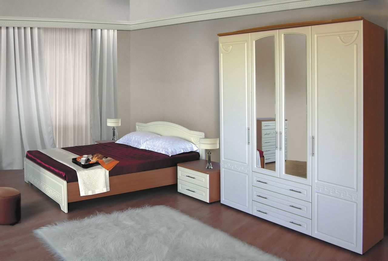 Недорогой спальный гарнитур фото
