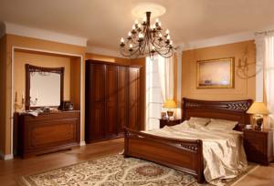 Фото мебели для спальни в классическом стиле