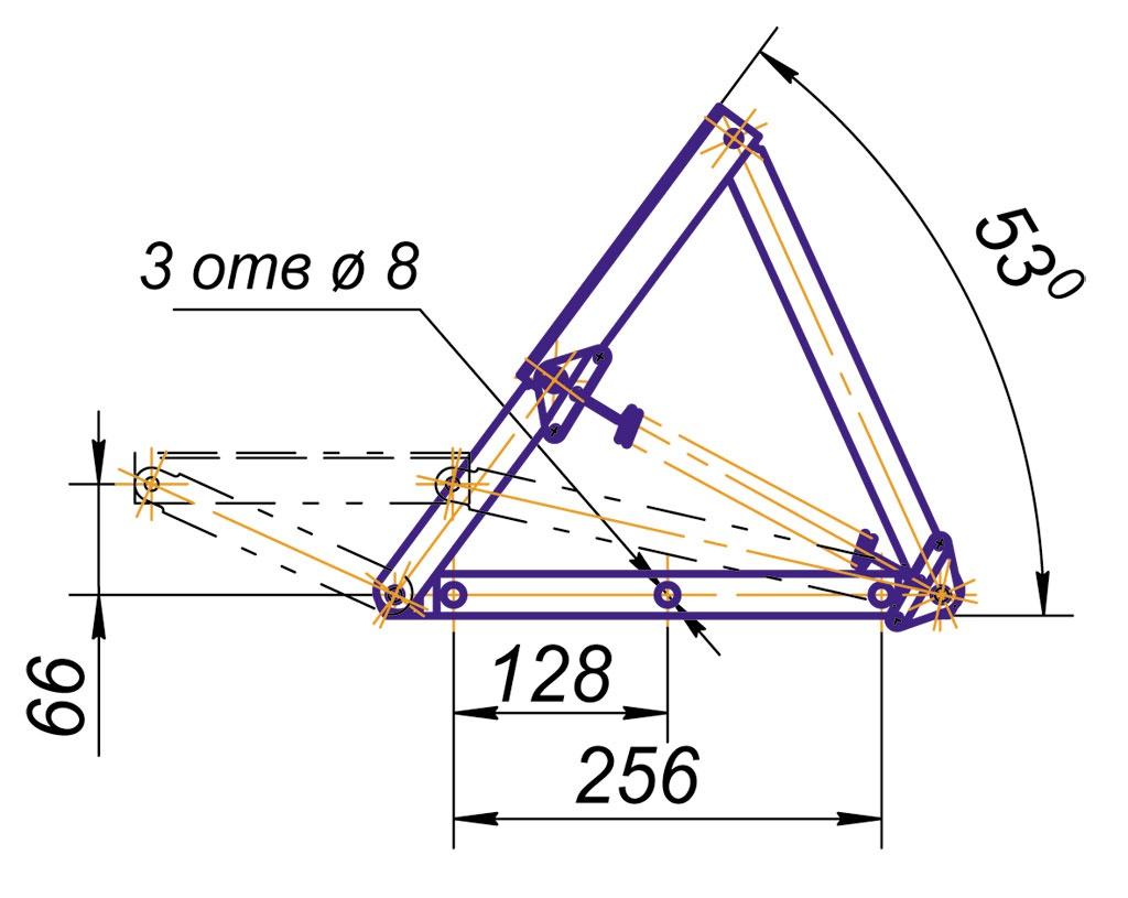 Подъёмный механизм для кровати сделать своими руками 25