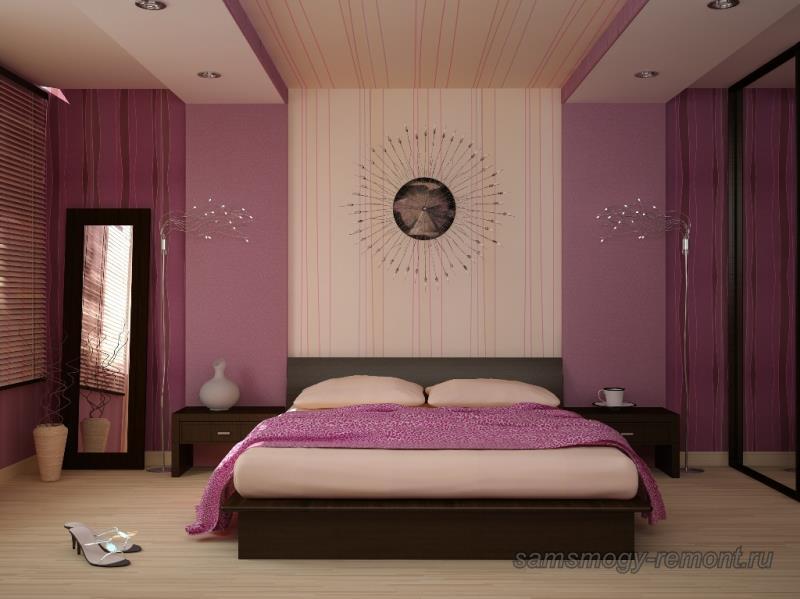 Обои для спальни - фото дизайна, какие обои выбрать в