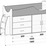 Кровать-чердак своими руками схема