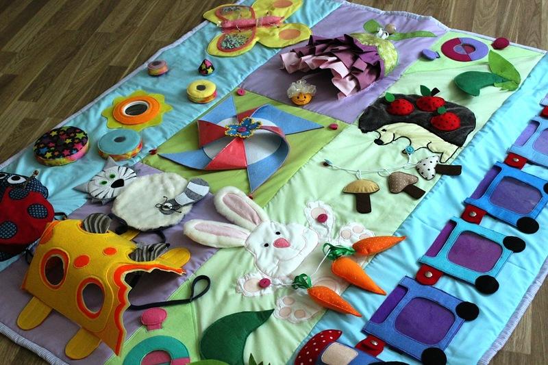 Фото развивающих ковриков своими руками