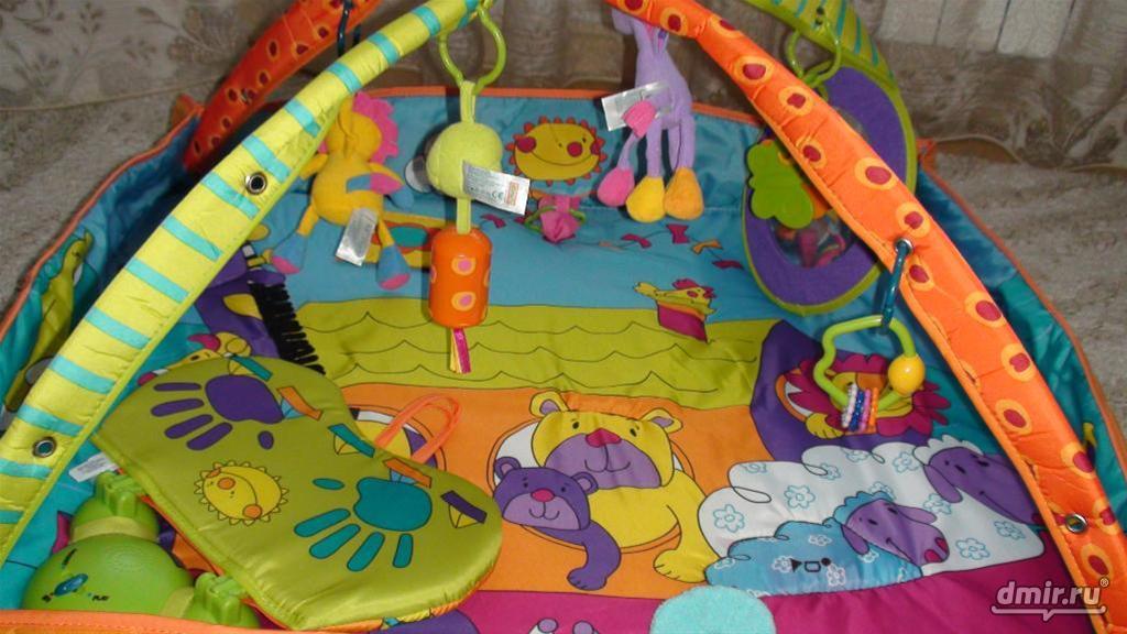 Детский развивающий коврик своими руками мастер класс