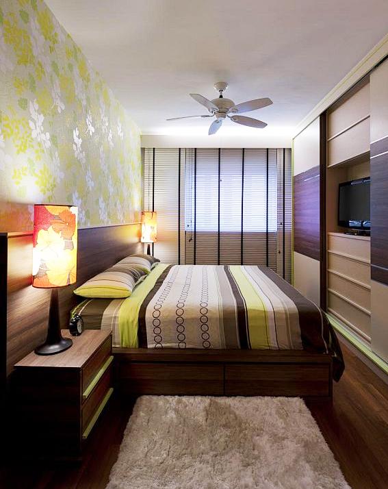 Интерьер узкой и длинной комнаты