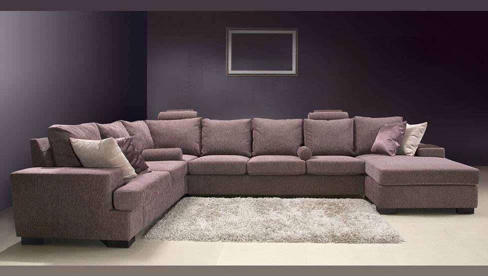 Большой угловой диван фото