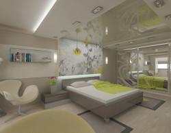 Декорирование спальни