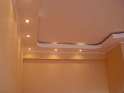 Двухуровневые потолоки из гипсокартона
