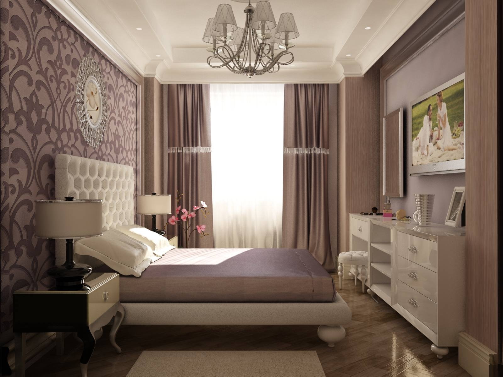 Маленькие спальни интерьер