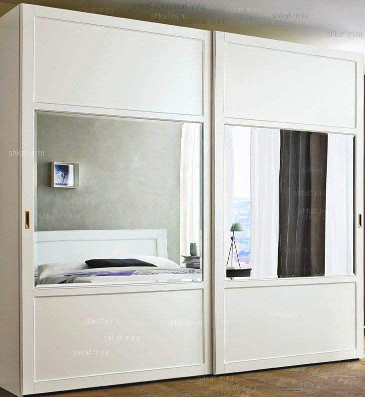 Шкаф в спальню белый