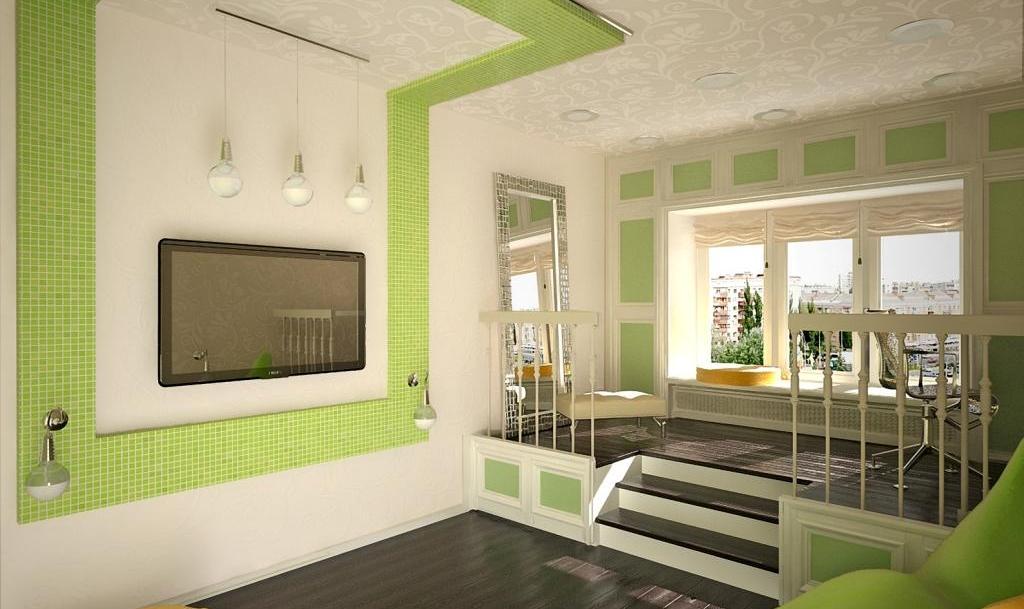 Интерьер для комнаты 17 кв.м фото