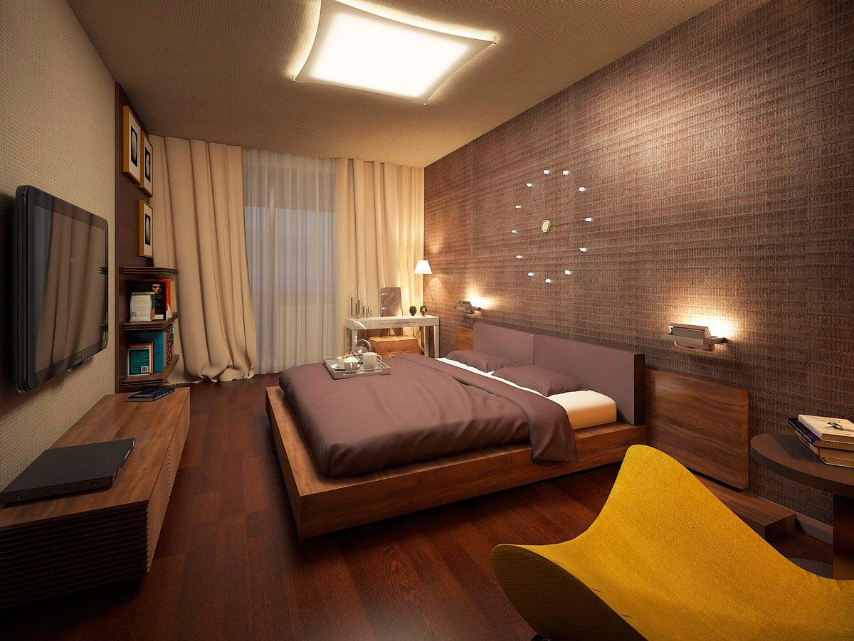 Спальня 3 на 5 дизайн фото