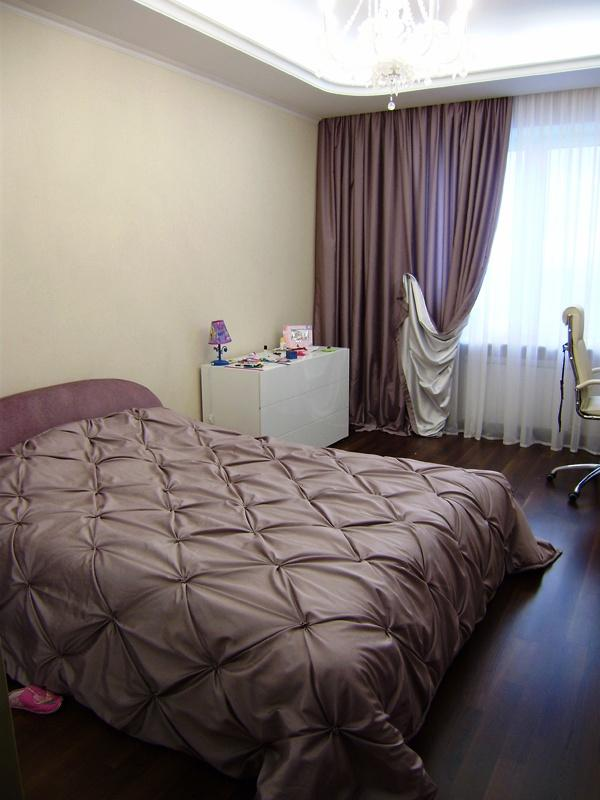 красивые покрывала и шторы для спальни фото