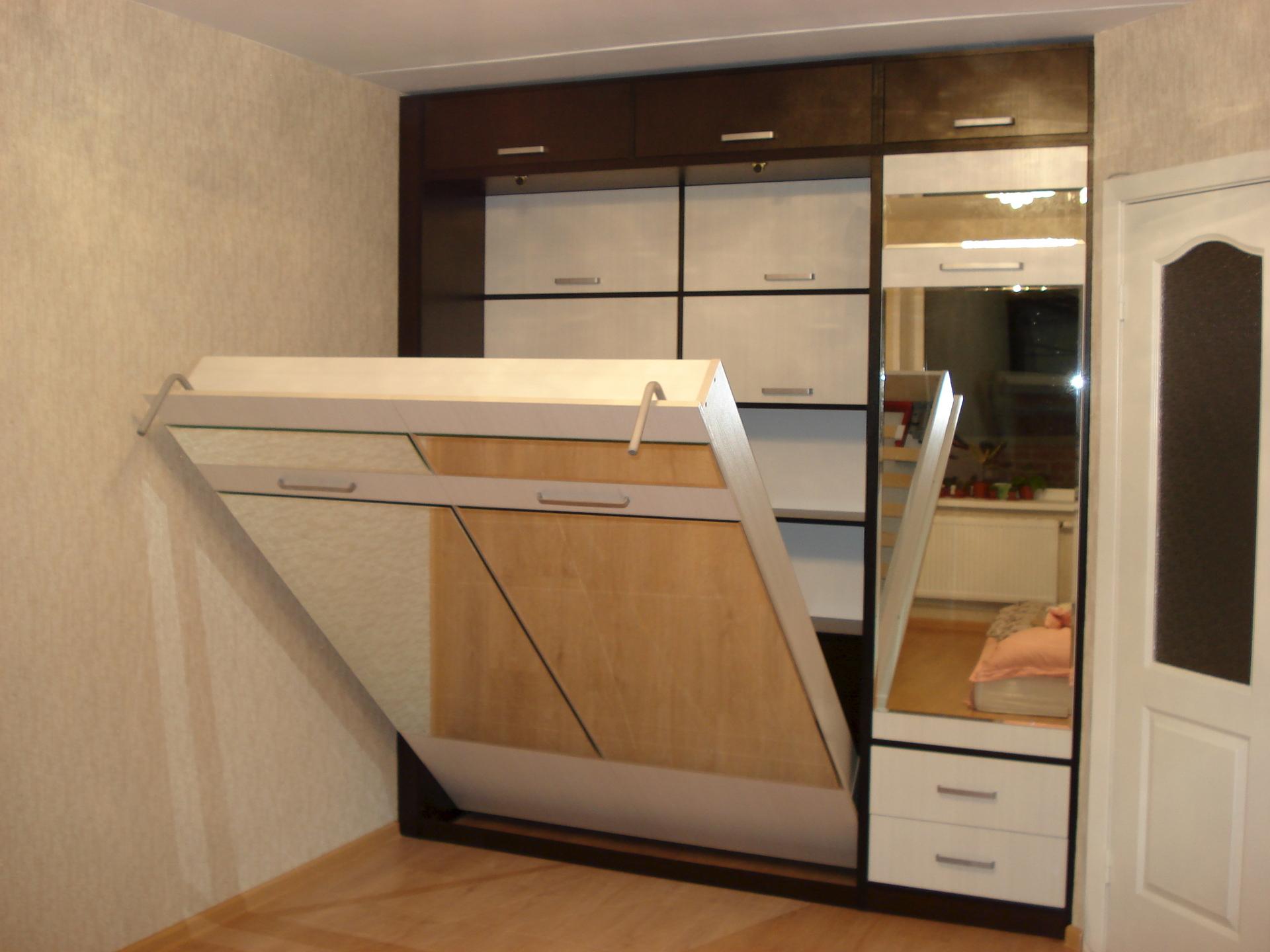 схема сборки подьемной кровати