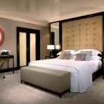 Прикроватные светильники в спальне