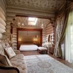 Спальни в деревянных домах