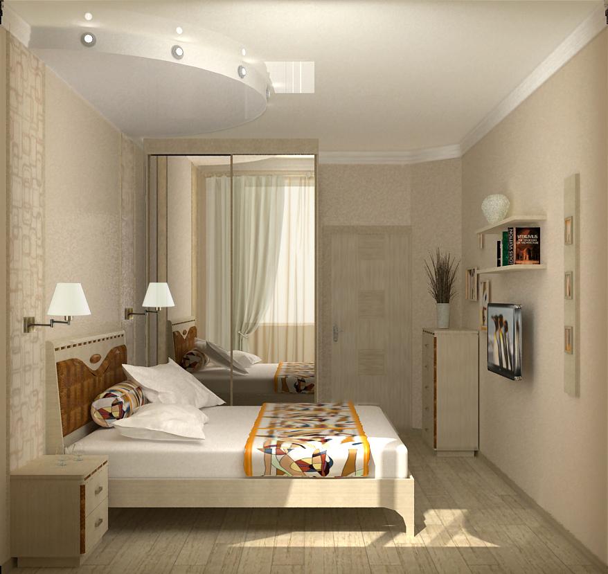 Спальня 14 кв м фото