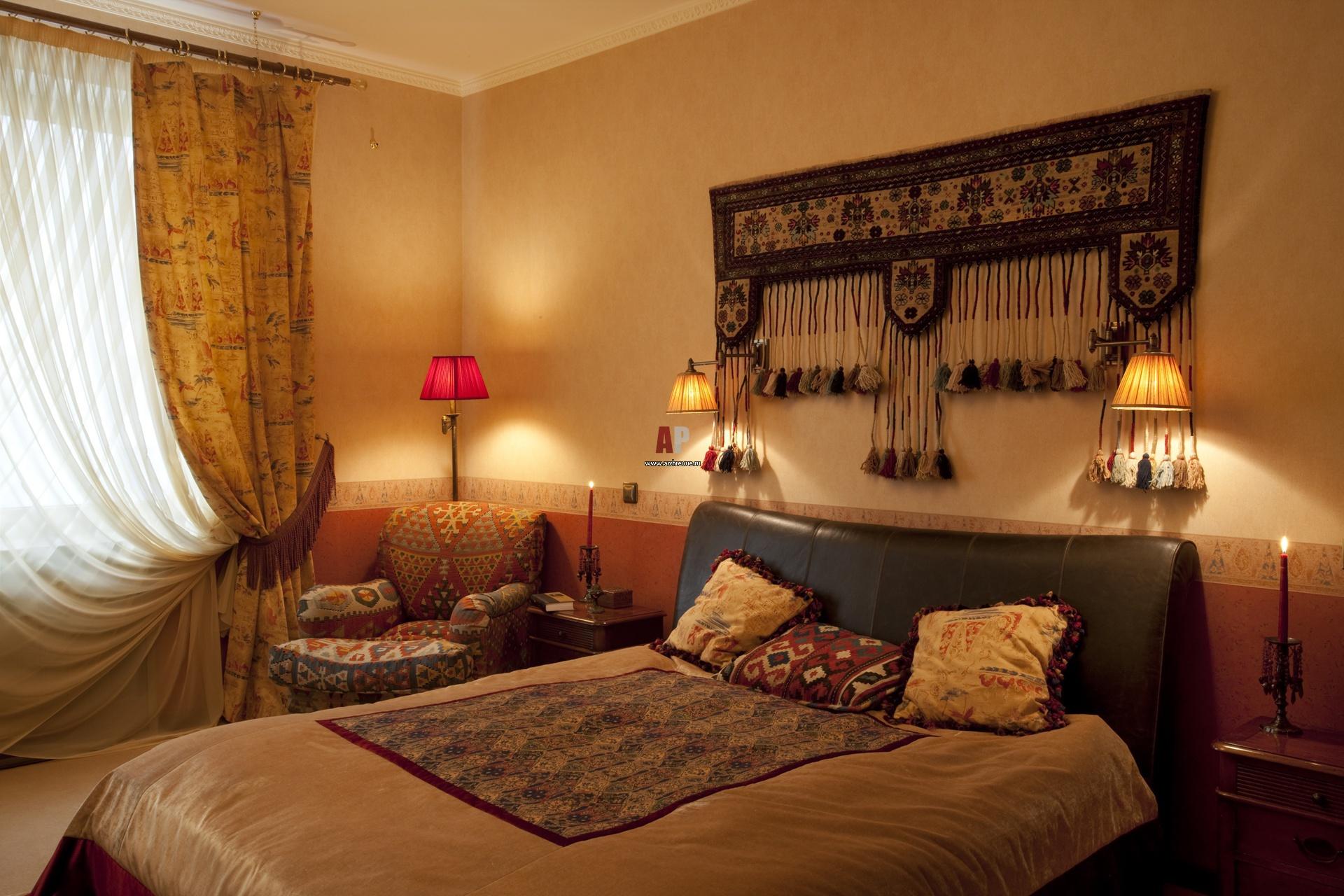 Восточный стиль в спальне своими руками фото