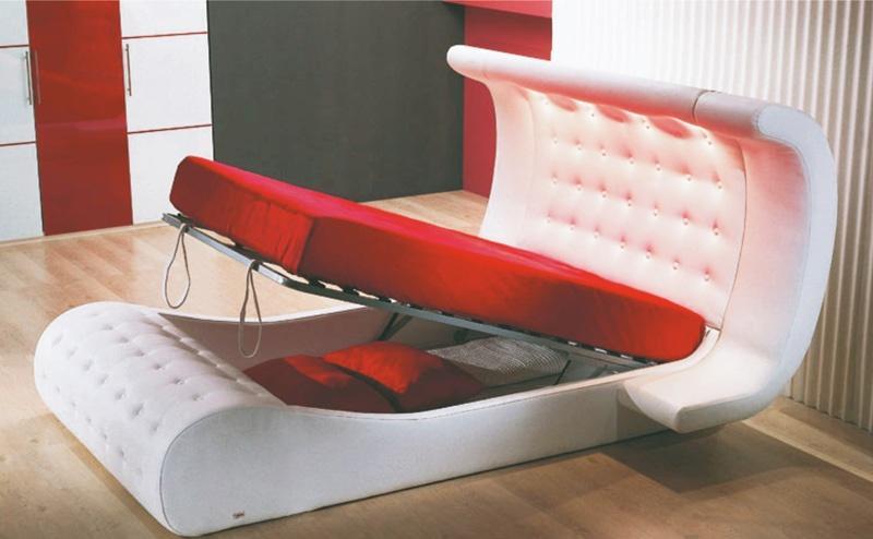 двуспальная кровать диван трансформер