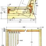 Двуспальная кровать-диван схема